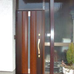 玄関ドア施工後